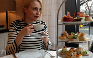 Intercontinental London afternoon tea